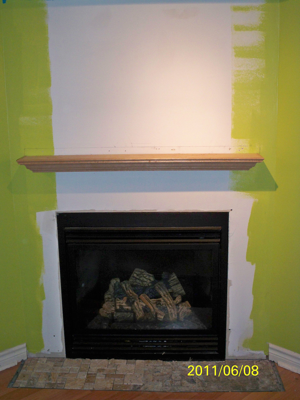 Phoenix Renovation Hammond Installation Of Fireplace